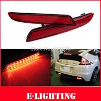 2X Red Lens LED Bumper Reflector Tail Brake Stop Backup Light for Honda CR-V CR-Z Acura
