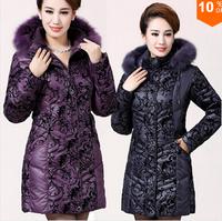 Winter Coat Women Plus Size 6XL Women Winter Jacket Women Natural Fox Fur Thickening Duck Down Coats Flocked Down Parkas