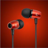 NEW Brand DJ Earphone Headphone Headset Noise Isolating Deep Bass Hifi Sport Earphones With Microphone
