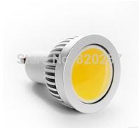x5pcs COB led GU10 spotlight 3W AC85-265V 120 beam angle degree free shipping