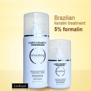 Бразильский кератин лечение выпрямления волос комплект 500 мл 5% формалина обработка ...