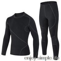 2015 New Arrival Men's Outdoor Sports Thermal Underwear Sets Polartec+Lycra Long Johns  M, L, XL, XXL Drop Shipping men clothing