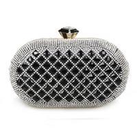 Cii European fashion luxury studded Diamond Ethereal handbag famous party night evening bag wholesale