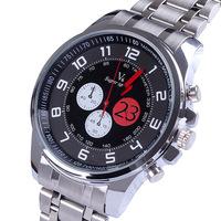 Sales new V6 Fashion Casual Brand atmos clock Men full steel watch Men's Wrist watch Quartz Military Watch Relogio masculino