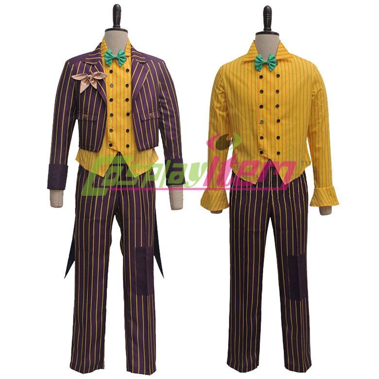Arkham Joker Cosplay Cosplay Costume Arkham