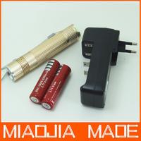 CREE XM-L2 T6 LED Waterproof Flashlight lamp Torch 2000Lumens+2* 4200mAh 18650 Battery+Charger