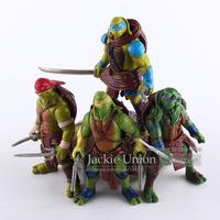 New Arrival 2014 Hot 4 pieces/set 10cm Anime Cartoon TMNT Teenage Mutant Ninja Turtles PVC Action Figure Toys Dolls
