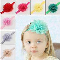 Baby Hair Accessories Para Cabelo Mulher Flower Headbands Bow Girls Sweet Hair Clip Children  Hairpins Styling Tools DGCZ6019