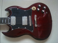 BIG SALES of s g  brown electric guitar anger yong model free shipping in stock send out in 2 days