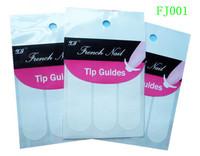 free shipping!! 10packs/lot French Nail Stickers Nail Art Nail Sticker Women Girls Vacation Gift nail gel XF