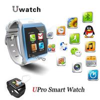Upro Bluetooth Smart Watch Phone U Sports WristWatch For Smartphone Support SIM card SMS/ Calls Sync Camera FM Radio Anti-lost