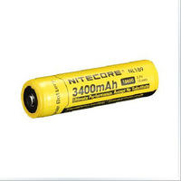 Free shipping Nitecore NL189 18650 Battery 3400mAH Long Lasting Battery