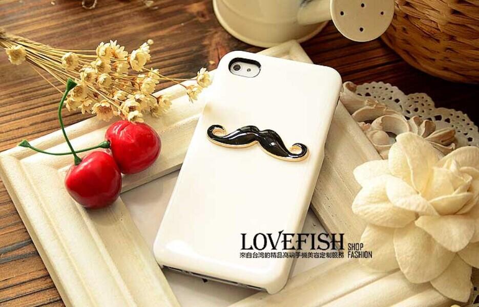 FREE SHIPPINGPersonalized mustache lovers shell iphone6 IPHONE6 Apple phone shell mobile phone sets shell 6(China (Mainland))