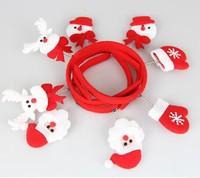 E084 Christmas gift Santa Claus party Hair accessories Hair bands head hat 2014