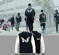 KPOP NEW HOT INFINITE BACK Nice Popular Baseball Uniform BQF042
