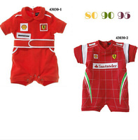 CR032 Free shipping 2014 new arrival baby rompers childrens newborn rompers red fashion baby jumpsuit retail and wholesale