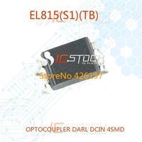 EL815(S1)(TB) OPTOCOUPLER DARL DCIN 4SMD EL815(TB) 815 815( 30pcs