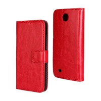 2014 New Crazy Horse Wallet Leather Stand Case For HTC Desire 300 Phone Cases Cover with Card Slot 9 Colors