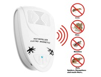 Electro Magnetic EU Plug Electronic Ultrasonic Rat Mouse Repellent Anti Mosquito Repeller Bug Mole Repeller Rodent Pest Reject