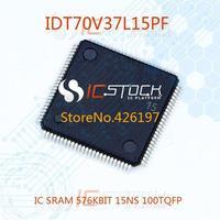 IDT70V37L15PF IC SRAM 576KBIT 15NS 100TQFP 1pcs
