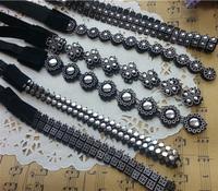 120pcs/lot lady women's elastic headband plastic sequins hair band fashion cheap hair wear hair accessories wholesale