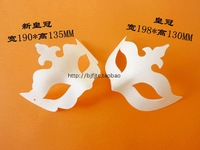 Mask white eco-friendly pulp a30 mask halloween masquerade diy