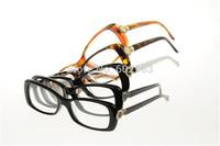 DHL Free Shipping  Fashion Vintage Nobel Eyewear Glasses 3203 Acetate Full-Rim Frame Optical Glasses Plain Mirror Lens Myopia