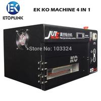 2014 New Arrival KO 4 in 1 Mobile Repair Equipment OCA Vacuum LCD Laminating Machine with Built-in Vacuum Pump & Air Compressor