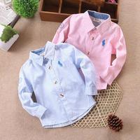 Children's clothing autumn children shirt children's clothing long-sleeve autumn male female child shirt