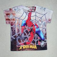 Retial New Spiderman cartoon children baby boys 3D t shirt brand Children Tops Tees Summer Wear Short Sleeve Children clothes