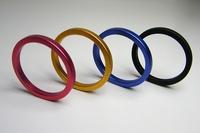 4 pcs/lots wholesale, Men's sex toys,metal cock ring,Aluminium alloy penis ring steel,male delay ring,4 colors,40mm/45mm/50mm