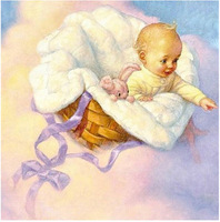 35x35 new Baby angel Cross Stitch diy diamond painting full square drill whole resin diamond painting free shipping
