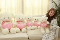 Free shipping (2pc/lot) Bear doll couple concentric couple  bear toy (50Cm,70CM,90 CM can be chose)