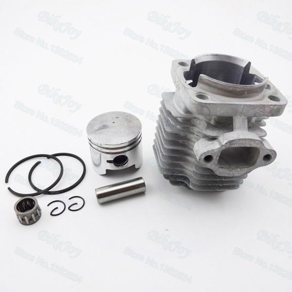44mm Cylinder Piston Kit 12mm Pin for 49cc 2 Stroke Engine Mini Moto Dirt Pocket Bike ATV Quad Minimoto Motorcycle(China (Mainland))