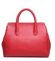 Free shipping DUDU new arrival trend genuine leather women's handbag elegant fashion leather tote designer bag