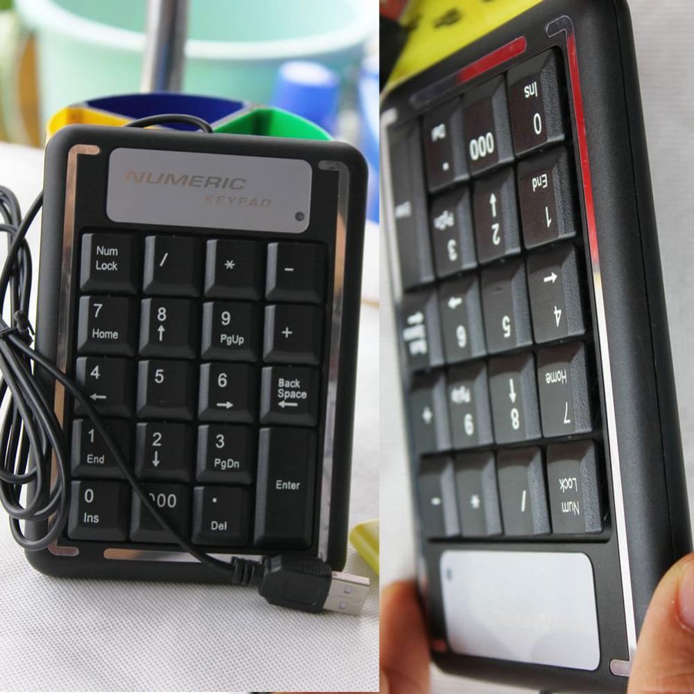 Free shipping 19 Keys Mini USB Keyboard Numeric Number Keypad with mini pc keyboard for PC Laptap ipad accessories(China (Mainland))