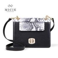Fashion  women's handbag first layer of cowhide bag women's serpentine pattern genuine leather women's handbag
