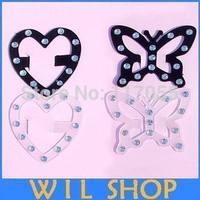 Free Shipping 20 pcs/lot Women Underwear Bra Button Sexy Anti-slip Invisible Bra Buckle Clip Strap