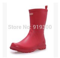 Hot New Women Mens Short Ankle Rubber Rain Boots Multi Colors Anti-slip Waterproof Rainboots Fashion Wellies Water Shoes  #ZJ1