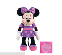 Free shipping 45 cm Mickey Mouse Clubhouse plush toy purple dress Minnie Mouse plush toy for children gift