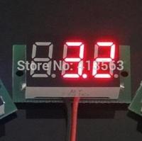 NEW  VOLTMETER  digital 4.7V-32V precision digital-display digital Voltmeter 4.7v to 32v LED SIZE:23 x 15 x 10 mm ( RED )  0034