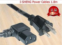 Original I-SHENG ASTM Line  US regulatory Commodities word L-bend the Power cord Wires1.8 m 1.25 sq extension Cable