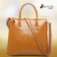 Retail cowhide cross-body handbag one shoulder women's bags multifunctional trend