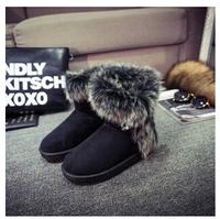 Women's Winter Boots Shoes Flat Heels Winter Snow Boots For Women Size 36-40 SZHPC-621