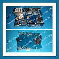 Free Shipping UNO Shield Ethernet Shield W5100 R3 UNO Mega 2560 1280 328 UNR R3 < only W5100 Development board FOR arduino