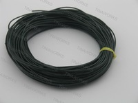 FREE SHIPPING 100m Dark Green Real Leather Necklace Cord/String Without Clasp 1.5mm