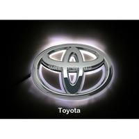 LED Car Logo White light for Toyota Corolla Highlander Camry Auto Badge Light