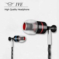 NEW Brand Metal Earphone Headphone Headset DJ Noise Isolating Deep Bass Hifi Sport Earphones With Microphone Black Color