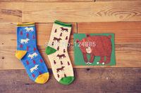 Women Girls Fashion Creative Cute Cartoon Hosiery Ankle Cotton Casual Socks For Christmas Gift 2 pairs 52276