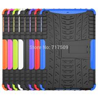 Universal High quality 2 in 1 Hybrid PC TPU kickStand Protective Case For IPAD Mini and for  IPAD MINI 2 Retina for ipad mini 3